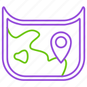 adventure, holiday, location, map, maps, travel, travelling icon