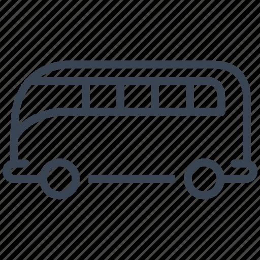 bus, camping, car, minibus, van icon
