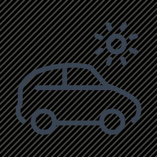 car, summer, travel, trip, vacation icon