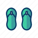 flip, flop, holiday, party, travel, vacation icon