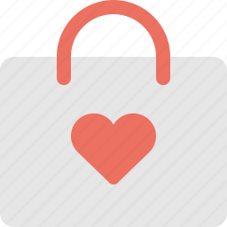 bag, gift, love, shopping, valentine icon