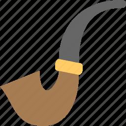 old, pipe, smoke, smoking icon