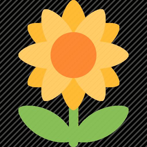 flower, nature, sun, sunflower icon