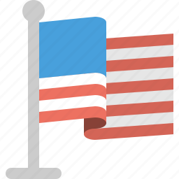 country, flag, usa icon