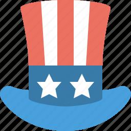 cap, hat, magic, top, usa icon