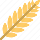food, leavelnature, wheat icon