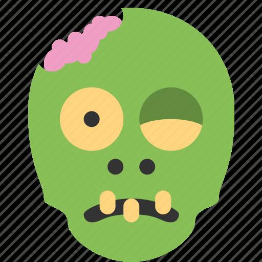 alien, creepy, halloween, zombie icon