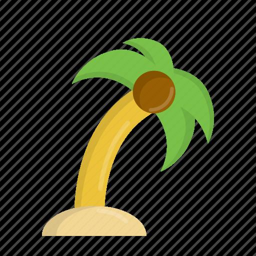 beach, coconut, coconut tree, island, palm, summer, tree icon