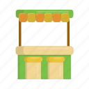 bar, beach, beach bar, drink, drink bar, store, summer icon