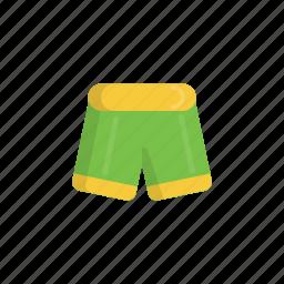 beach, pant, pants, shorts, swim wear, swimming, wear icon