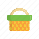basket, beach, food, meal, shop, shopping, summer icon