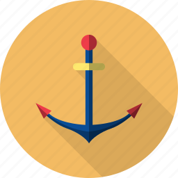 anchor, holiday, recreations icon