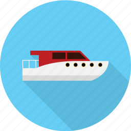 boat, holiday, recreations icon