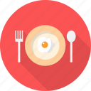 egg, frying, holiday, recreations icon
