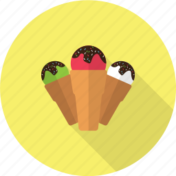 cream, holiday, ice, recreations icon
