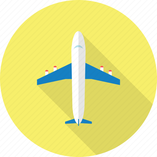 holiday, plane, recreations icon