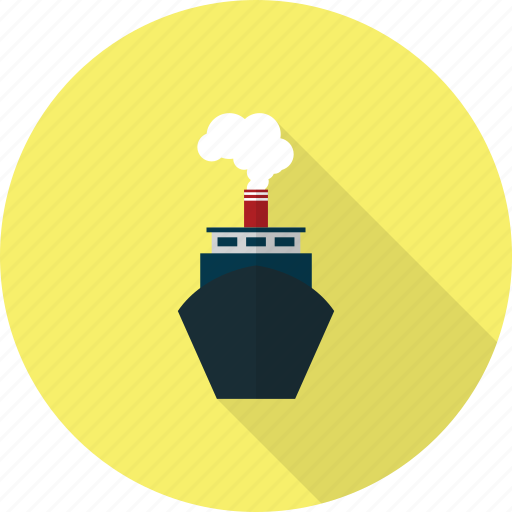 holiday, recreations, ship icon