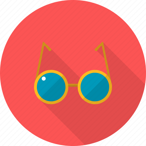 glasses, holiday, recreations, sun icon
