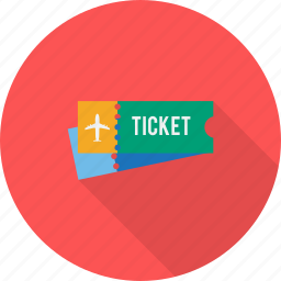 holiday, recreations, ticket icon
