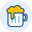 beer, celebration, drink, holiday icon