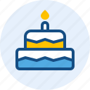 birthday, cake, celebration, christmas, holiday icon