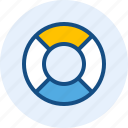 buoy, celebration, holiday, tire icon