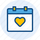 celebration, christmas, date, holiday, valentine icon