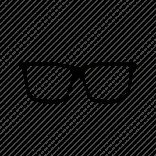 bifocals, eye glasses, opthalmologist, opticals, optician, specs, spectacles icon icon