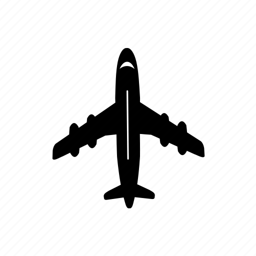 aeroplane, airline, airplane, aviation, flight, plane, travel icon icon