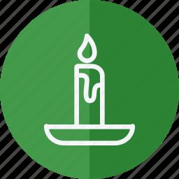candle, celebration, christmas, halloween, holiday, xmas icon