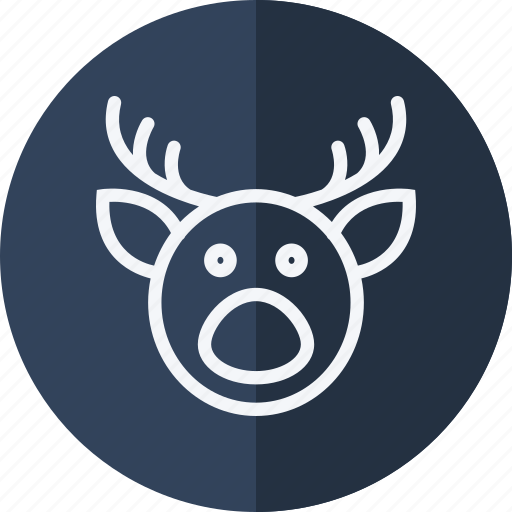 celebration, christmas, deer, halloween, holiday, xmas icon