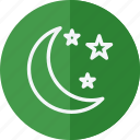 celebration, christmas, halloween, holiday, moon, xmas icon
