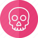 celebration, christmas, halloween, holiday, skull, xmas icon