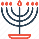 candelabra, celebration, christmas, day, halloween, holidays, xmas icon