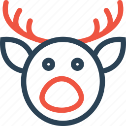 celebration, christmas, day, deer, halloween, holidays, xmas icon