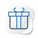 box, celebration, festival, gift, halloween, holidays, xmas icon