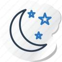 celebration, festival, halloween, holidays, moon, xmas icon
