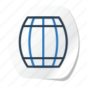 beer, celebration, festival, halloween, holidays, jar, xmas icon