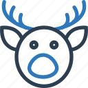 ballondeer, celebration, day, halloween, holidays, xmas icon
