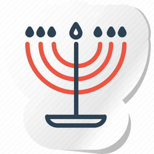 candelabra, celebration, copy, festival, halloween, holidays, xmas icon