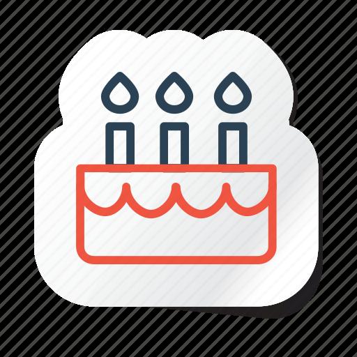birthday, cake, celebration, festival, halloween, holidays, xmas icon