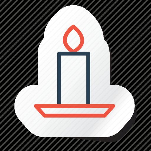 candle, celebration, festival, halloween, holidays, party, xmas icon