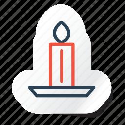 candle, celebration, festival, halloween, holidays, xmas icon