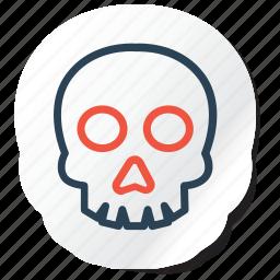 celebration, copy, festival, halloween, holidays, skull, xmas icon