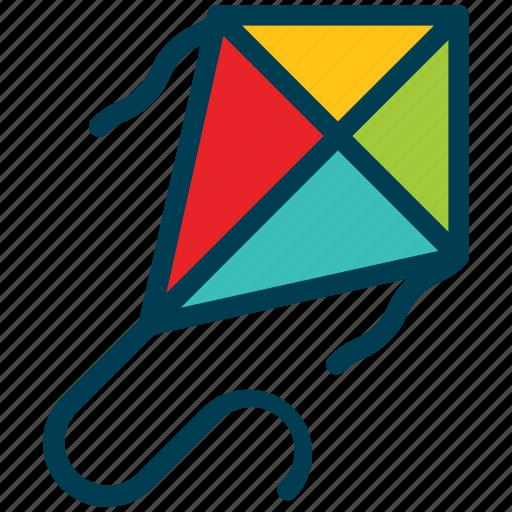 Summer, kite, festival, makar, sankranti icon - Download on Iconfinder