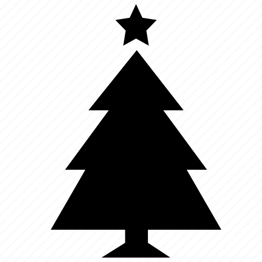 Christmas Tree Icon.Holidays By Martin Leblanc