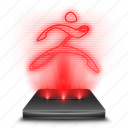 art, graphic, hologram, red, sculpture, tool, zbrush icon