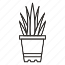 flower, grow, home, ikea, leaves, plant, pot icon
