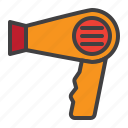 hair, dryer, blowing, electric