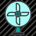 ventilator, table, fan, electric